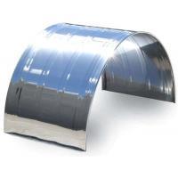 Rhino stainless steel rod edge truck mudguard for dual or single wheel
