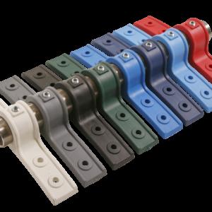 Rhino plastic saddles full colour range PLSAD