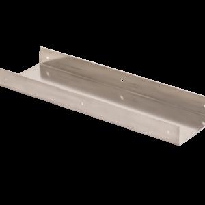 infill spacer aluminium u shape